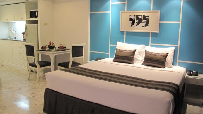 View of Grand President Serviced Apartments Bangkok - Muslim Friendly Travel in Bangkok