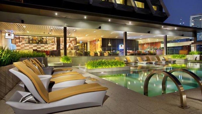View of Doubletree By Hilton Hotel Sukhumvit Bangkok - Muslim Friendly Travel in Bangkok