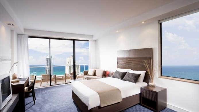 View of Crowne Plaza Hotel Surfers Paradise - Muslim Friendly Travel in Gold Coast