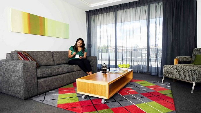 View of The Sebel Residence East Perth - Muslim Friendly Travel in Perth