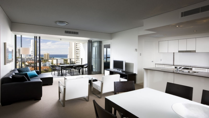 View of Mantra Broadbeach On The Park Apartments - Muslim Friendly Travel in Gold Coast