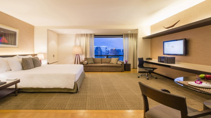 View of Emporium Suites by Chatrium - Muslim Friendly Travel in Bangkok