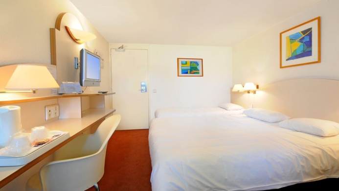 View of Comfort Inn Kiotel Hotel Bron - Muslim Friendly Travel in Lyon
