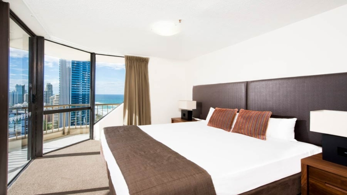 View of Club Surfers Apartments Gold Coast - Muslim Friendly Travel in Gold Coast