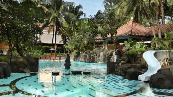 View of Melia Purosani Hotel Yogyakarta - Muslim Friendly Travel in Yogyakarta