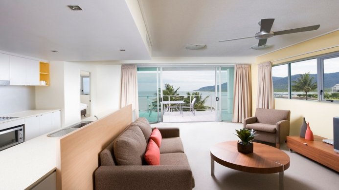 View of Mantra Trilogy Cairns - Muslim Friendly Travel in Cairns