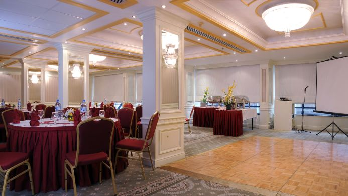 View of Admiral Plaza Hotel Dubai - Muslim Friendly Travel in Dubai
