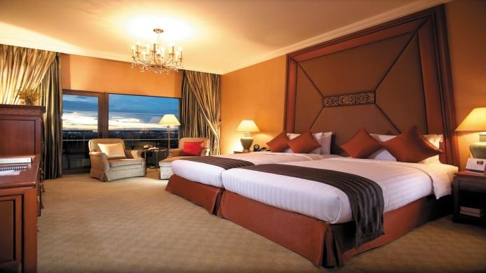 View of Asia Hotel Bangkok - Muslim Friendly Travel in Bangkok