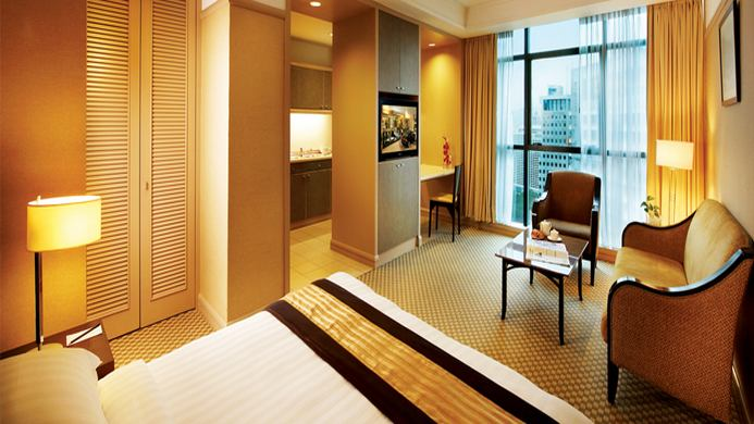 View of Pacific Regency Hotel Suites Kuala Lumpur - Muslim Friendly Travel in Kuala Lumpur