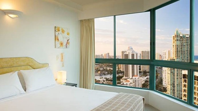 View of Mantra Crown Towers Surfers Paradise Resort - Muslim Friendly Travel in Gold Coast