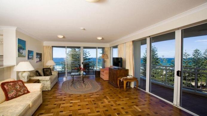 View of Burleigh Mediterranean Resort - Muslim Friendly Travel in Gold Coast