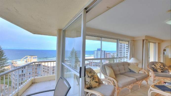 View of Surfers Beachside Apartments Gold Coast - Muslim Friendly Travel in Gold Coast