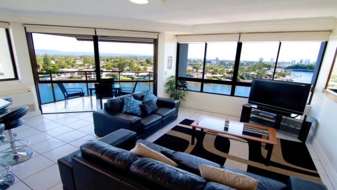 View of Surfers Hawaiian Apartments Gold Coast - Muslim Friendly Travel in Gold Coast