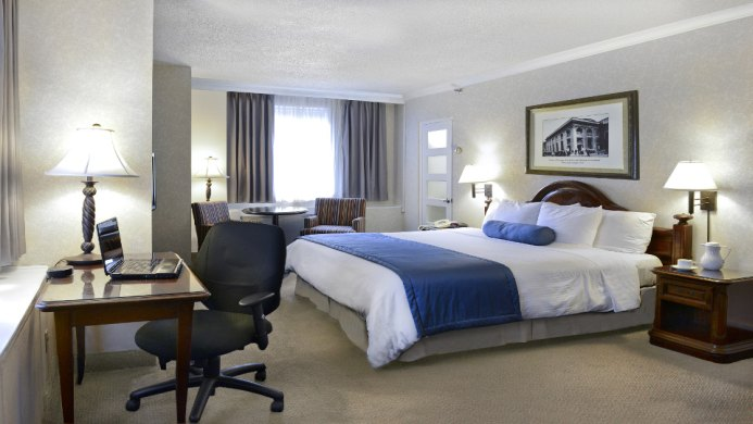 View of Best Western Ville Marie Hotel & Suites Montreal - Muslim Friendly Travel in Montreal, QC