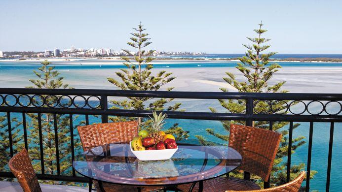 View of Ramada Marcoola Beach - Muslim Friendly Travel in Sunshine Coast