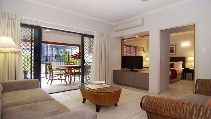 View of Southern Cross Atrium Apartments Cairns - Muslim Friendly Travel in Cairns