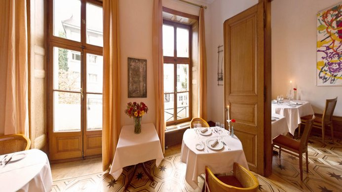View of Bellerive Chalet Hotel & Pizzeria Faulensee - Muslim Friendly Travel in Interlaken