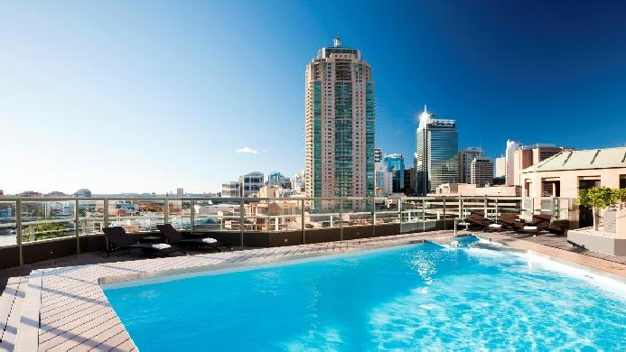 View of Citigate Central Sydney Hotel - Muslim Friendly Travel in Sydney