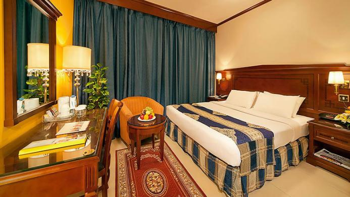 View of Coral Diera Hotel Dubai - Muslim Friendly Travel in Dubai