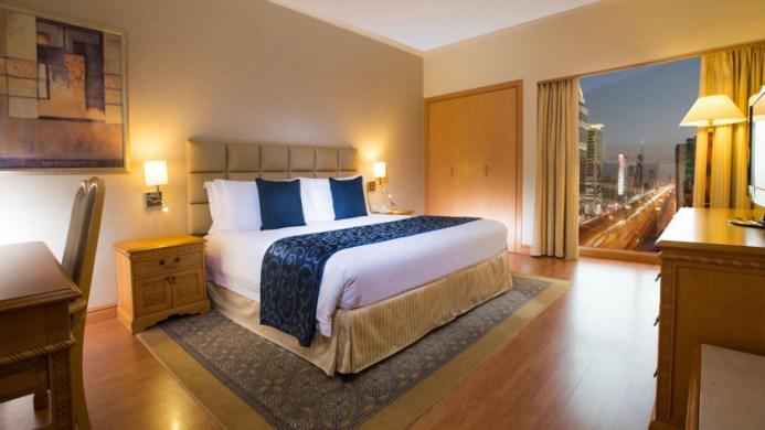 View of Crowne Plaza Hotel Dubai - Muslim Friendly Travel in Dubai