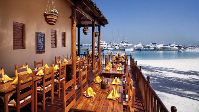View of Jumeirah Emirates Tower Hotel Dubai - Muslim Friendly Travel in Dubai