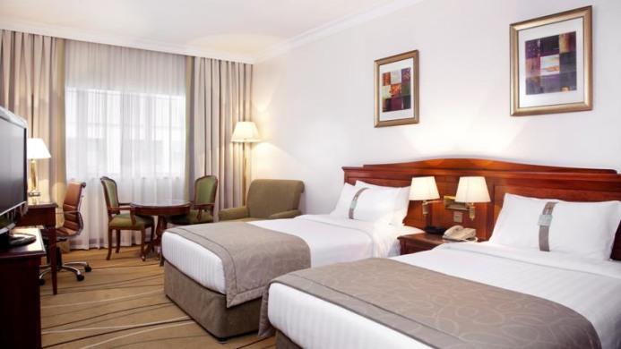 View of Holiday Inn Downtown Hotel Dubai - Muslim Friendly Travel in Dubai