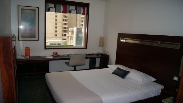 View of ibis World Trade Center Hotel Dubai - Muslim Friendly Travel in Dubai