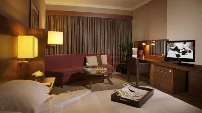 View of Jumeira Rotana Hotel Dubai - Muslim Friendly Travel in Dubai