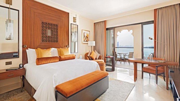 View of Fairmont Hotel Dubai - Muslim Friendly Travel in Dubai