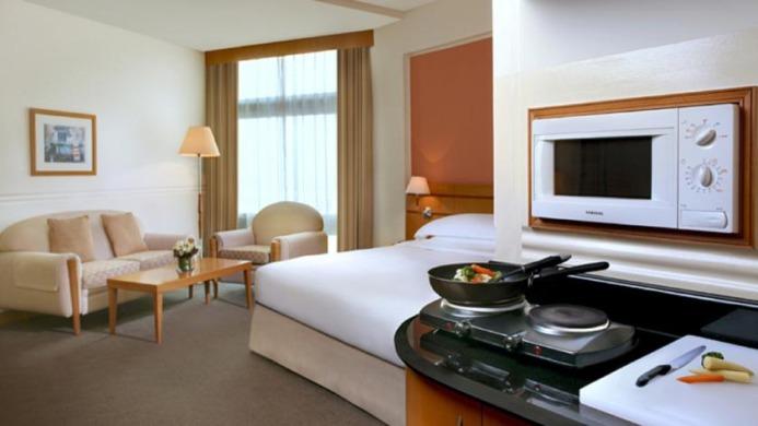 View of Rihab Rotana Hotel Dubai - Muslim Friendly Travel in Dubai