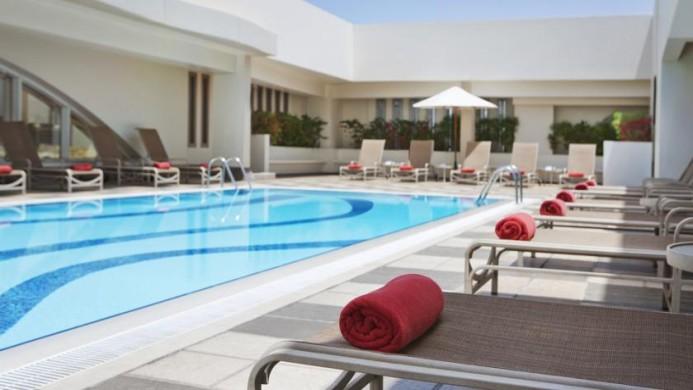 View of Al Maha Arjaan Hotel Abu Dhabi - Muslim Friendly Travel in Abu Dhabi
