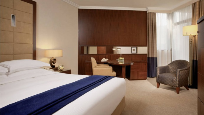 View of Beach Rotana Hotel & Towers Abu Dhabi - Muslim Friendly Travel in Abu Dhabi