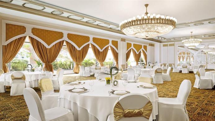 View of Sheraton Hotel & Resort Abu Dhabi - Muslim Friendly Travel in Abu Dhabi