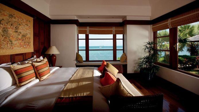 View of Napasai Resort Maenam Beach - Muslim Friendly Travel in Samui