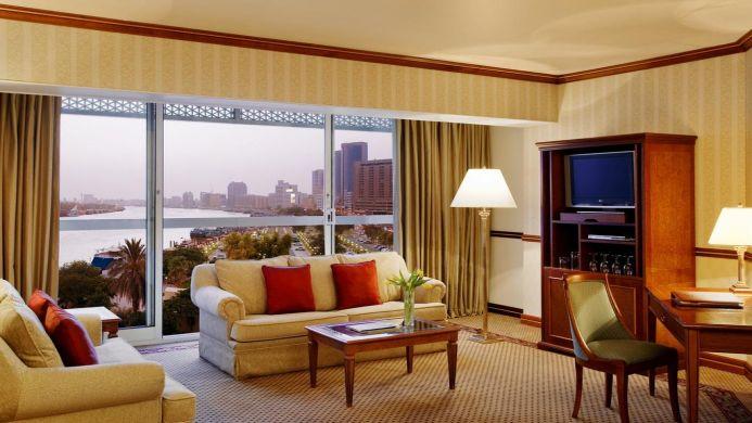 View of Taj Palace Hotel Dubai - Muslim Friendly Travel in Dubai