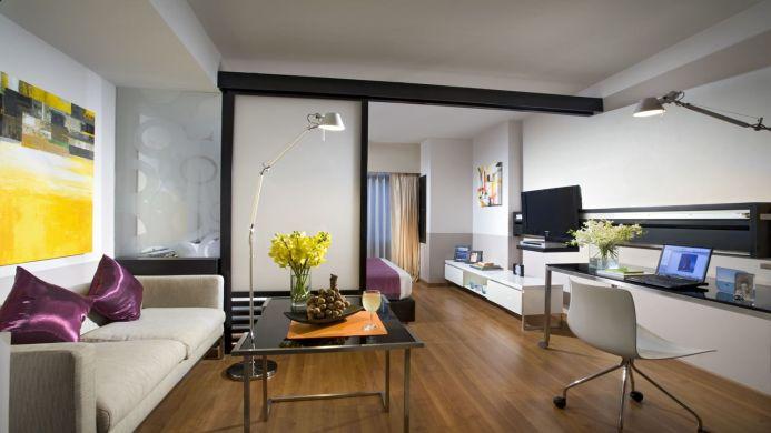 View of Riverfront Residence Serviced Apartments Bangkok - Muslim Friendly Travel in Bangkok