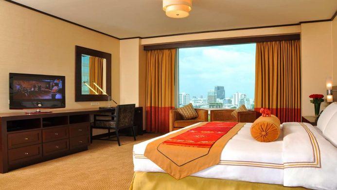 View of Conrad Bangkok Residences - Muslim Friendly Travel in Bangkok