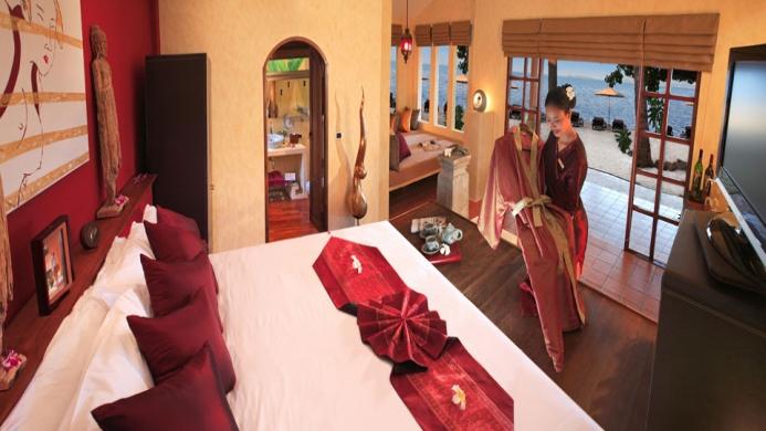 View of Chaweng Cabana Resort Samui - Muslim Friendly Travel in Samui