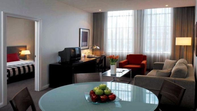 View of Adina Apartment Hotel Sydney, Central - Muslim Friendly Travel in Sydney