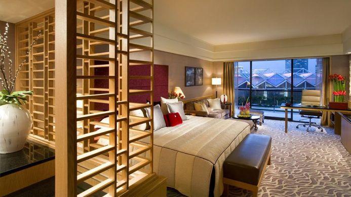 View of Mandarin Oriental Hotel Singapore - Muslim Friendly Travel in Singapore