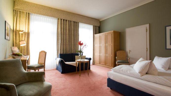 View of Lindner Grand Hotel Beau Rivage Interlaken - Muslim Friendly Travel in Interlaken