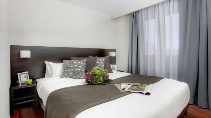 View of Park & Suites Prestige Lyon Part Dieu Apartment - Muslim Friendly Travel in Lyon