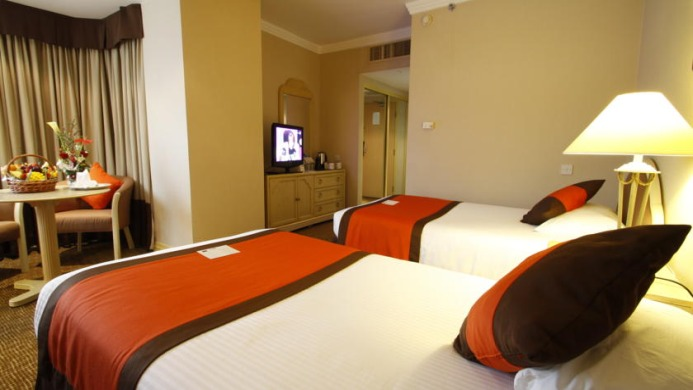 View of Mercure Abu Dhabi Centre Hotel - Muslim Friendly Travel in Abu Dhabi