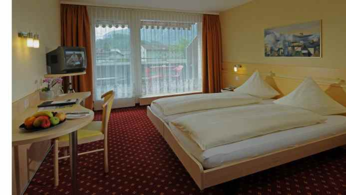 View of Metropole Swiss Quality Interlaken Hotel - Muslim Friendly Travel in Interlaken