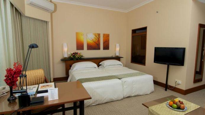 View of The Gurney Resort Hotel & Residences Penang - Muslim Friendly Travel in Penang