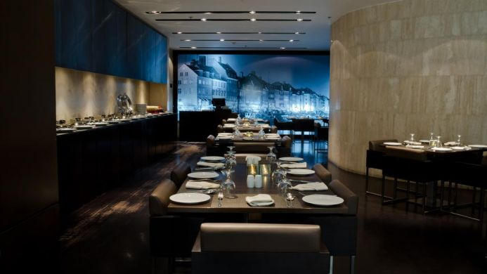 View of Seaview Hotel Dubai - Muslim Friendly Travel in Dubai