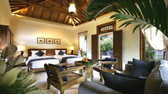 View of The Cangkringan Spa & Villas Hotel Yogyakarta - Muslim Friendly Travel in Yogyakarta