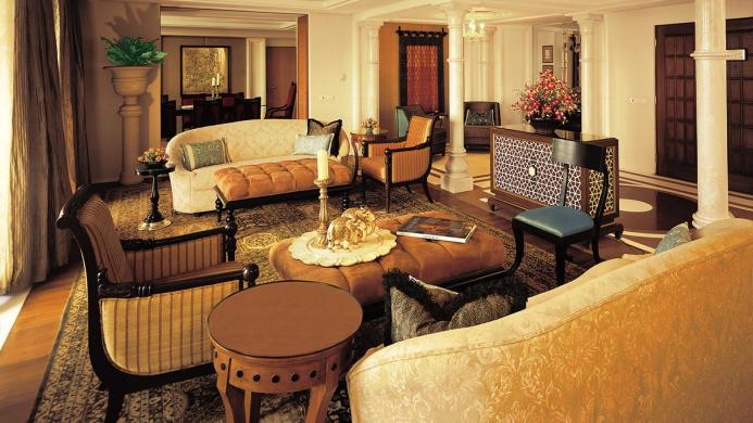 View of The Oberoi Amarvilas Agra Hotel - Muslim Friendly Travel in Agra