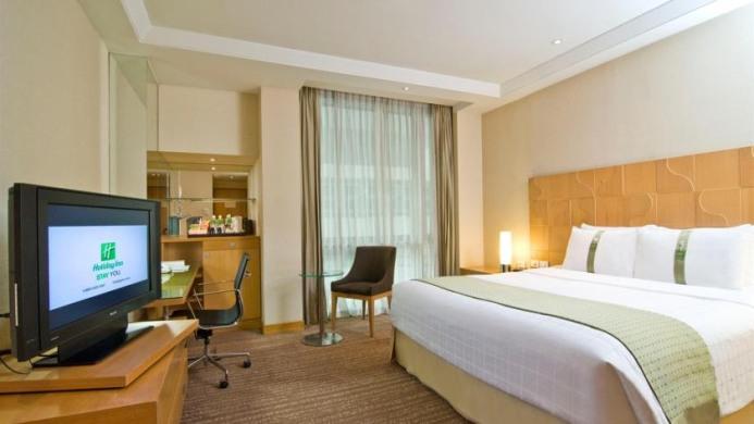 View of Holiday Inn Hotel Bangkok - Muslim Friendly Travel in Bangkok