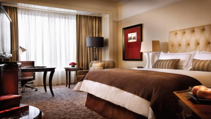 View of Four Seasons Hotel Singapore - Muslim Friendly Travel in Singapore